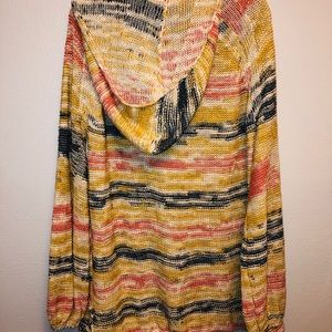 Free People Sweaters - NWT Free People Hooded Beach Sweater Size Large